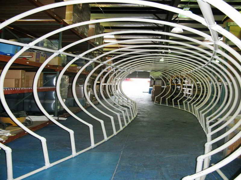 pvc pipe tunnel