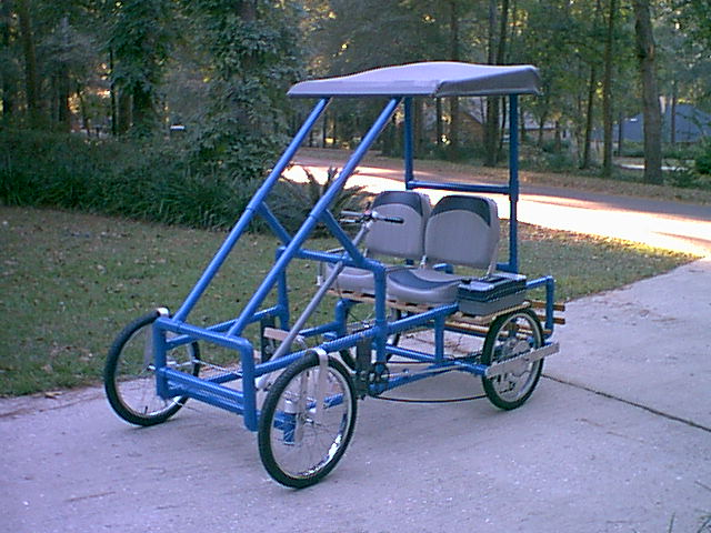 One Person Golf Cart >> #1 FlexPVC®.com Projects, Structures, Canopies, Ladders ...
