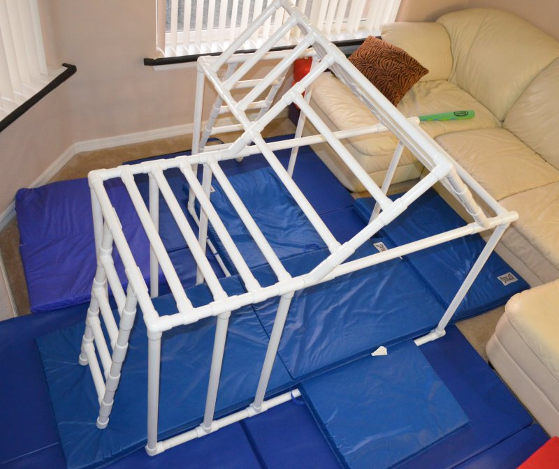 Metric PVC Pipe & 1 FlexPVC®.com Projects Structures Canopies Ladders  Dog Jumps ...
