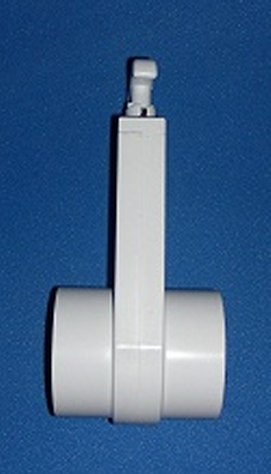 0401-20 2 inch Gate Knife Blade Valve - PVC-Valves-Gate