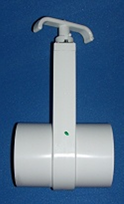 "0401-25 2.5"" Gate Knife Blade Valve - PVC-Valves-Gate"