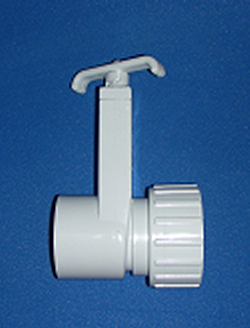 0550-15 1.5 inch FBT Gate Knife Blade Valve - PVC-Valves-Gate
