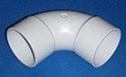 0660-20 2 Slip x Slip 90 Sweep - PVC-Fittings-Elbows-Sweep90sUnrated