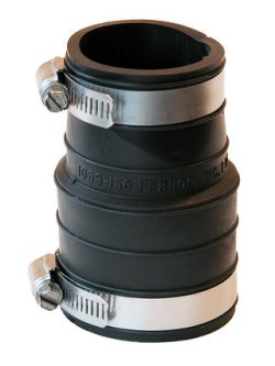 1059-150 Fernco Fitting Extender for 1.5 pipe & fitting, see details - Fernco-Rubber-Couples-Reducing