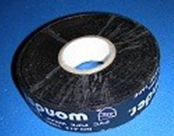 "10mil x 1"" x 100feet BLACK tape - PVC-Pipe-Wrapping-Tape"