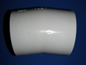 "411-030 11° 3"" elbow COO:USA - PVC-Fittings-Elbows-11-degree"