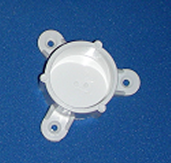 Mounting Cap for 1.25 inch pipe - PVC-Fittings-Caps