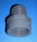1435-015 1.5 barb x 1-1/2 FPT Industrial Barb/Insert Fittings COO:USA - Barb-Adapters-Threaded
