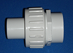 1.5 HOSE by 1.5 Slip Socket Union - PVC-Fittings-Unions-Unrated