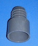 1474-015 1.5 inch barb x 1.5 inch slip gray - Barb-Adapters-Slip-Spigot