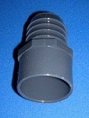 Hose Barb/Insert Adapters to pvc pipe.