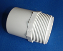 433-015 1.5 male fitting adapter (mpt x spigot) , aka 461-015 - PVC-Fittings-Male-Fitting-Adapters