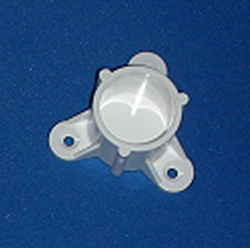 "Mounting Cap for 1"" pipe - PVC-Fittings-Caps-Mounting"