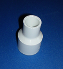 429-130-L 1 x 1/2 reducing couple COO: CHINA - PVC-Fittings-Couples-Reducing