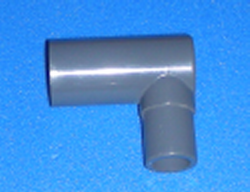 209-010-4 Extra Deep 1 street 90 - PVC-Fittings-Elbows-90-Street