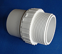 433-020 2 inch male fitting adapter (mpt x spigot) COO:USA - PVC-Fittings-Male-Fitting-Adapters