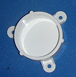 "Mounting Cap for 2"" pipe - PVC-Fittings-Caps-Mounting"