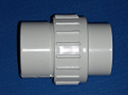 1.5 slip x 2 spigot union - PVC-Fittings-Unions-Unrated
