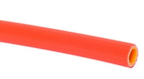 High Pressure 560PSI Orange PVC Hose 3/8 ID By The Foot COO: Japan - PVC-High-Pressure-Hose-BTF