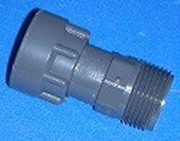 "334-010 1"" swivel to 1"" MPT, seals on threads COO:USA - BulkheadModularSystem"