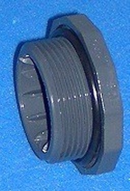 350-015 QD Plug with o-ring for 1.5 FPT - BulkheadModularSystem
