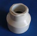 429-337 3 x 1-1/2 reducing couple COO:USA - PVC-Fittings-Couples-Reducing