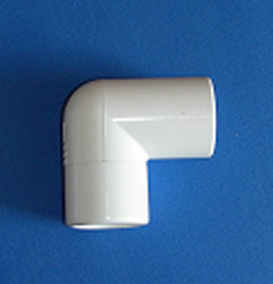 411-5550 1.5 spigot by spigot Elbow - PVC-Fittings-Elbows-90-Street