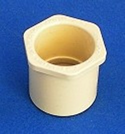 4140-010 Reducer Bushing 1 inch sch 40 to 1 inch CPVC CTS COO:USA - CPVC-CTS-Fittings