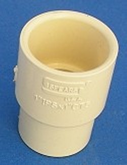 4141-010 Reducer Couple 1 inch sch 40 to 1 inch CPVC CTS - CPVC-CTS-Fittings