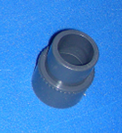 417-6127 1 inch spg x 25mm JIS or 1 inch spg x 32mm DIN adapter - PVC-Fittings-Metric-Adapters