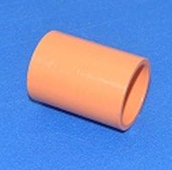 "4229-012 1.25"" couple orange for fire system pvc pipe COO:USA - PVC-Fire-Sprinkler-System-Parts"