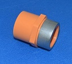 "4235-007SR Fire systems Orange Female Adapter 3/4"" COO:USA - PV"