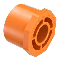 4237-131 Fire systems Orange Reducer Bushing 1 x 3/4 - PVC-