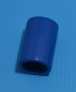 "429-005BLU BLUE 1/2"" couple. COO:UNKNOWN - PVC-Fittings-Colors"