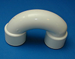 429-4000 PVC1.5 inch U Bend **PRESSURE RATED** - PVC-Fittings-U-Bends