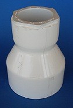 429-488F 5 x 3 reducing couple - PVC-Fittings-Couples-Reducing