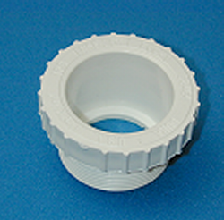 436-251-2 2MPT x 1.5 slip socket (Bushing Style) COO: USA - PVC-Fittings-Reducer-Bushings-MPT