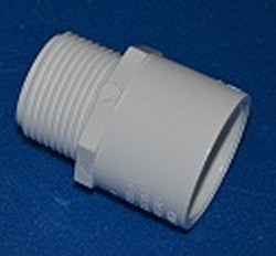 "436-010-L 1"" male adapter, COO:CHINA - PVC-Fittings-MaleAdapters"