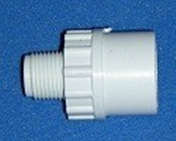 436-043 1/4 MPT x 3/8 slip socket COO: USA - PVC-Fittings-MaleAdapters