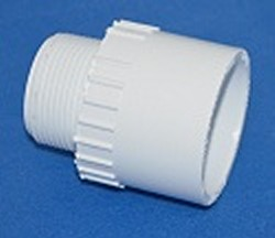 436-132 1 MPT x 1.25 slip socket reducing male adapter COO: USA  - PVC-Fittings-MaleAdapters