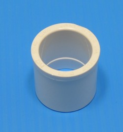 437-101S 3/4 by 1/2 reducer bushing, round head. - PVC-Fittings-Reducer-Bushings-Slip-Spg