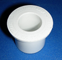 437-130 1 by 1/2 reducer bushing COO:USA - PVC-Fittings-Reducer-Bushings