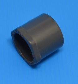 "437-131G 1"" x 3/4"" reducer bushing COO:USA - PVC-GRAY-Sch40-Fittings"