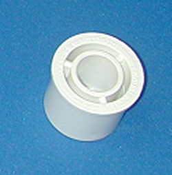 437-166 1.25 by .5 reducer bushing. COO:USA - PVC-Fittings-Reducer-Bushings