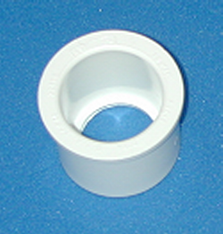 437-168 1.25 by 1 reducer bushing, Dura Brand COO: USA - PVC-Fittings-Reducer-Bushings-Slip-Spg