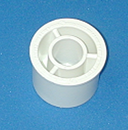 437-209 1.5 by .5 reducer bushing. COO:USA - PVC-Fittings-Reducer-Bushings