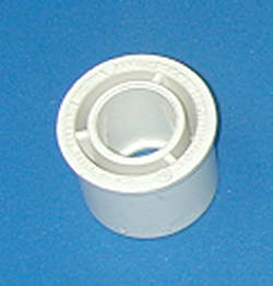 437-210-L 1.5 by .75 reducer bushing. COO:CHINA - PVC-Fittings-Reducer-Bushings