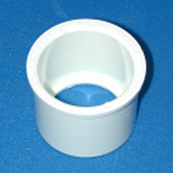 "431-080 8"" PIP pipe to Sch 40/80 IPS Reducer Bushing - PVC-"
