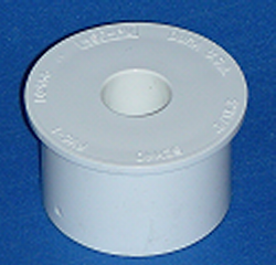 437-287-L 2.5 spigot x 1/2 slip reducer COO:CHINA - PVC-Fittings-Reducer-Bushings-Slip-Spg