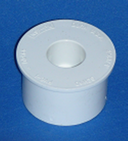 437-248-L 2 inch x 3/4 inch reducer bushing COO:CHINA - PVC-Fittings-Reducer-Bushings